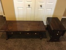Ethan Allen Sofa Table and End Table in DeKalb, Illinois