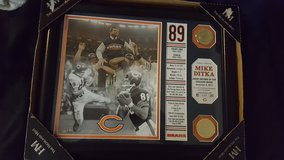 Mike Ditka plaque in Tinley Park, Illinois