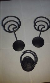 Partylite Brand 3 Candle Holders in Elgin, Illinois