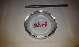 """Ashtray Horse and Buggy 3-3/4"""" diameter in Elgin, Illinois"""