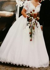 Wedding Dress US12 EUR42 - Lohrengel Cassel in bookoo, US