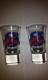 Planet Hollywood Shot Glasses Pair in Elgin, Illinois