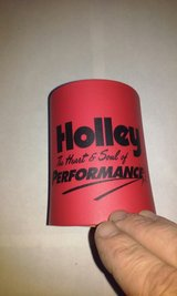 Holley Performance Beer Drink Can Coozy in Bartlett, Illinois
