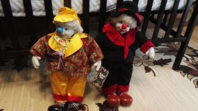 Two clowns toys. in Ramstein, Germany