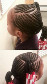 Kids braids with beads in Hinesville, Georgia