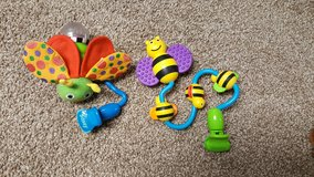 Sassy clip on stroller toys in New Lenox, Illinois