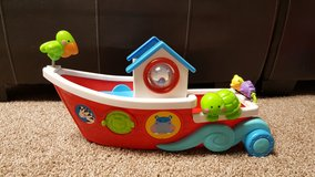 Large fisher price noahs ark boat in Joliet, Illinois