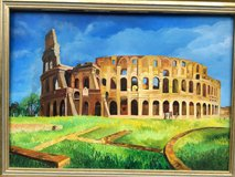 New Colosseum oil painting in Ramstein, Germany