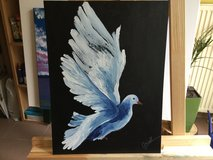 Acrylic painting in Ramstein, Germany