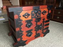 Korean Chest/end table in Okinawa, Japan