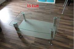 Glass Couch table (Couchtisch) - good condition in Stuttgart, GE