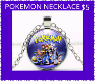 POKEMON NECKLACE in Fort Benning, Georgia