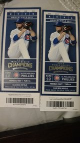 Cubs vs Phillies tonight in Bolingbrook, Illinois