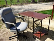 Desk - Chair not included in DeKalb, Illinois