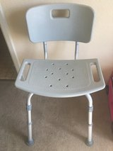 Aluminum medical shower chair in Travis AFB, California