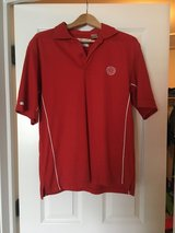 Men's red Medinah polo medium in Chicago, Illinois