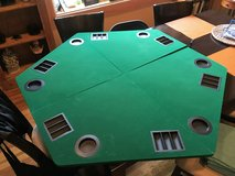 Poker Table Top with Carrying Case in Bartlett, Illinois