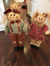 Scarecrow - Boy and girl - Can stand by themselves in Kingwood, Texas