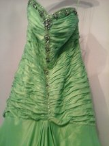 Gorgeous green prom dress in Naperville, Illinois