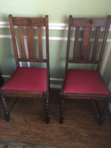 Reduced! Pair of Antique chairs in Baytown, Texas