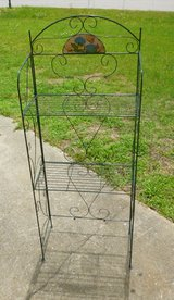 Foldable Wire Shelving Unit, Plant Stand in Camp Lejeune, North Carolina