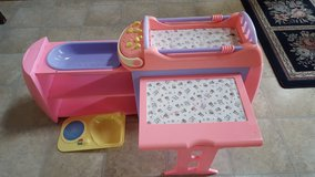 Baby Bed/Changing Table in Sugar Grove, Illinois