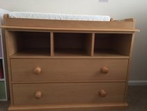 Wooden Changing Table with Drawers in Colorado Springs, Colorado