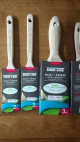 """2"""" and 2, 3"""" brushes here. $5.00 each PAINT BRUSHES in Naperville, Illinois"""