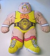 Wrestling-Buddies-1990, Hulk-Hogan, Vintage WWF in Aurora, Illinois