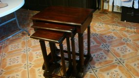 3 in 1 Beautiful dark wood Serving Table in El Paso, Texas