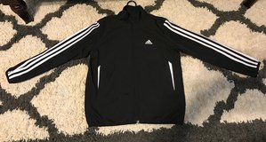 Kids Black Adidas Jacket size Small in Columbus, Georgia