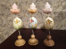 Butterfly candle holders in Bartlett, Illinois