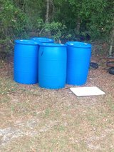 55 gal plastic drums in Valdosta, Georgia