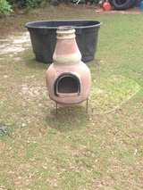 Clay wood burner in Valdosta, Georgia