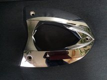 VICTORY 2006 2007 2008 JACKPOT OEM REAR SEAT SUPPORT HOLDER PLATE CHROME in Westmont, Illinois