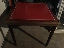 Vintage card table in Joliet, Illinois