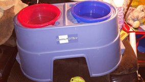 BRAND-NEW! Set of #2 Pet Food Bowls on Pedestal in Sugar Grove, Illinois