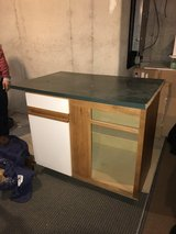 Kitchen island in Tinley Park, Illinois