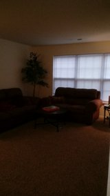 Ashley 7 Piece LR set Almost brand new both couches are sleepers in Greensboro, North Carolina