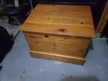 Pine Custom Storage Box / Twin Bed / bookcase/chest combo in Baytown, Texas