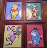 Four Framed Winnie The Pooh & Friends Pictures in Ramstein, Germany