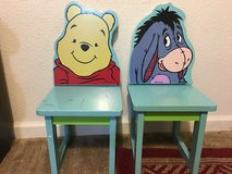Winnie the Pooh and Eeyore chair in Travis AFB, California