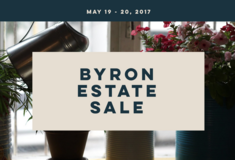 Byron Estate Sale May 19-20 in Perry, Georgia