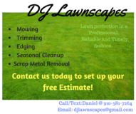 All your lawncare needs in Camp Lejeune, North Carolina