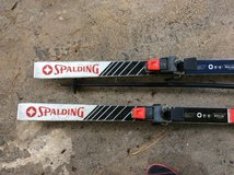 Spalding skis in Fort Campbell, Kentucky