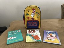 Vintage The Cat in The Hat Backpack & 3 books in El Paso, Texas