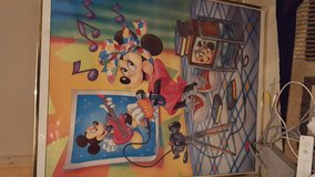 Mickey and Minnie Mouse wall decor in Bolling AFB, DC