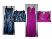 Blue & Fushia evening gowns in Belleville, Illinois