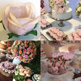 Box with 20 truffle or mini cupcake wrappers-light pink- CREDIT CARDS ACCEPTED!!! in Plainfield, Illinois