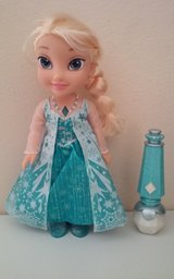 Elsa Doll with Microphone in Conroe, Texas